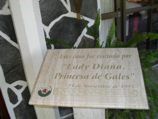 The Town of Gaiman : Placa de mensión