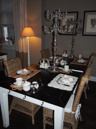 Casa Romantico: petit déjeuner