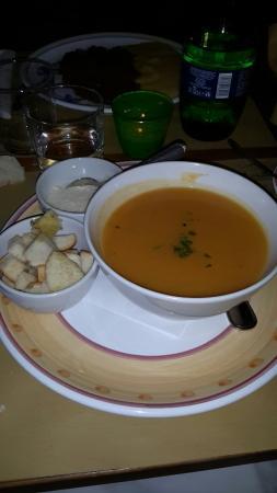 Osteria Il Ciottolo: Crema di carote e patate