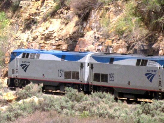 United States: California Zephyr - Amtrak - Salt Lake City, Utah