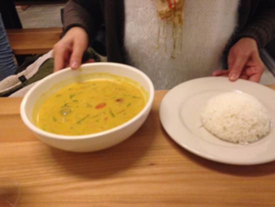 Lily's : Curry verde