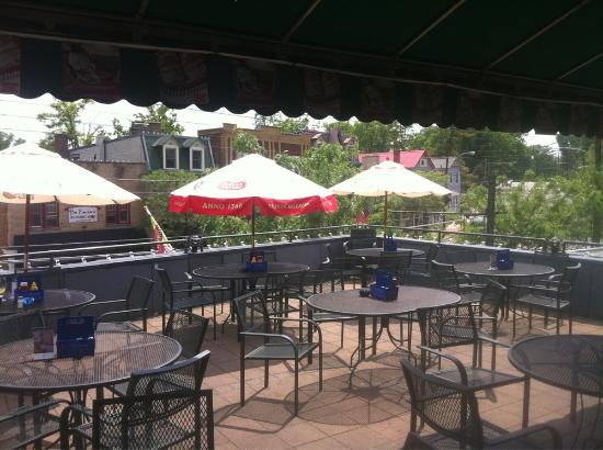 Rooftop patio picture of o 39 bryon 39 s bar and grill for Balcony grill and bar