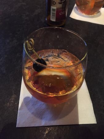 Inn and Spa at Loretto: The Smoking Nun Cocktail!