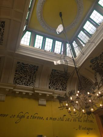 old court room ceiling picture of clink78 london tripadvisor rh tripadvisor co uk
