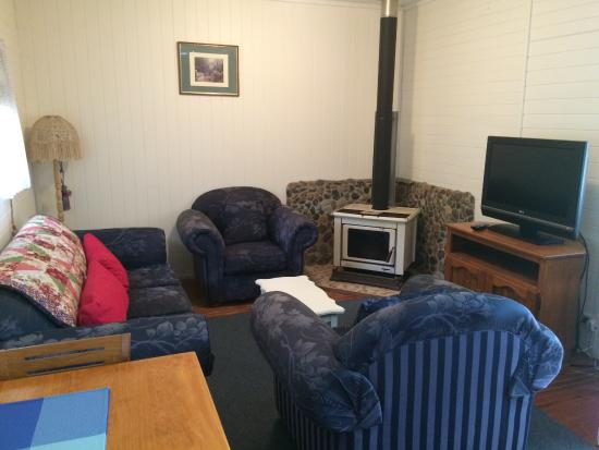 Kenilworth, Australien: Rose Cottage Lounge
