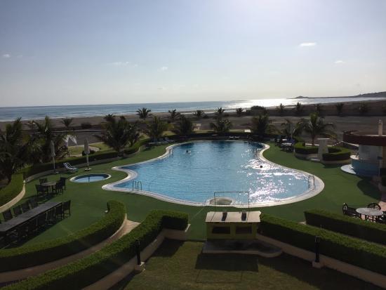 Masirah Island, Omán: Balcony view