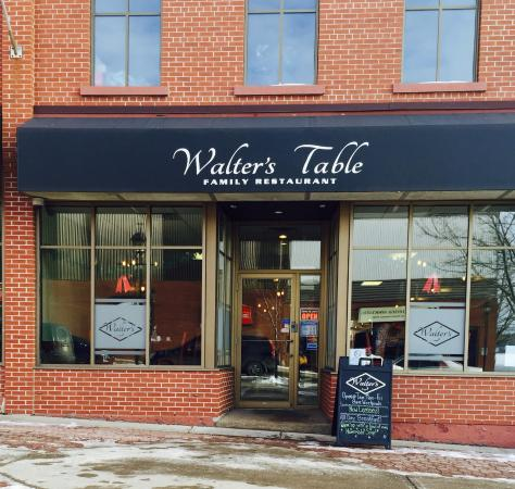 Woodstock, Canadá: Walter's Table