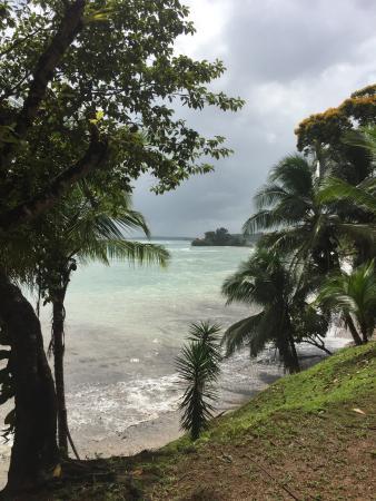 Isla Popa, Panamá: beach view