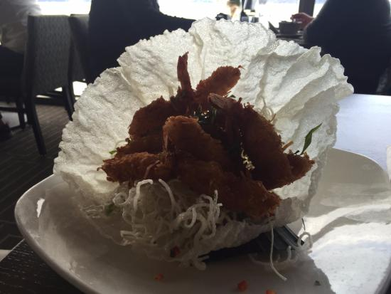 Neptune's Waterfront Grill & Bar : Coconut shrimp