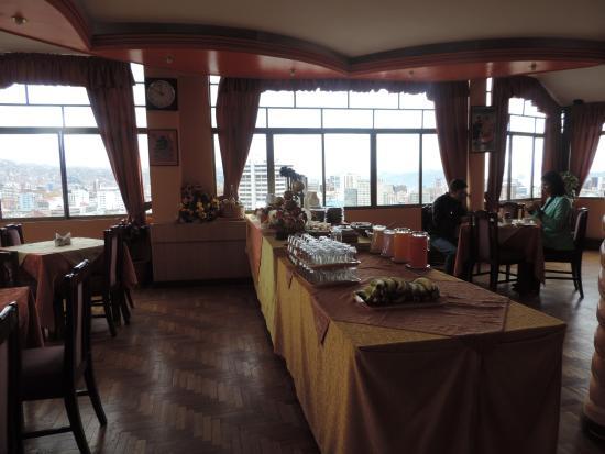 Hotel Condeza: Piso do restaurante