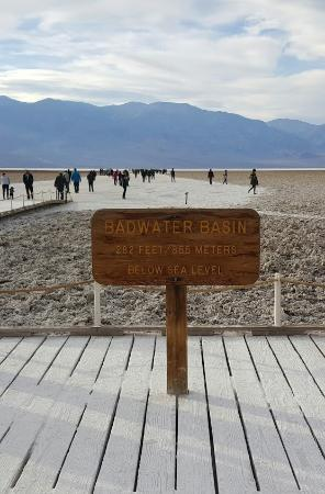 Badwater: Official sign