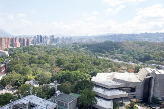 Hotel Venetur Alba Caracas: Vista desde la habitación