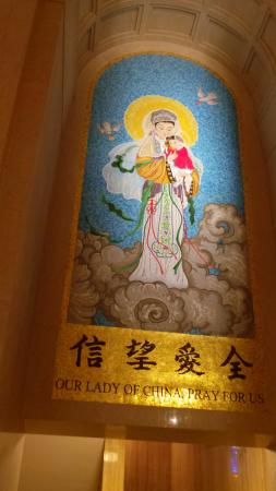 Basilica of the National Shrine of the Immaculate Conception : Virgen Mary from China