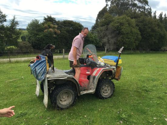 graham on his atv picture of hunter farm home stay lawrence rh tripadvisor com