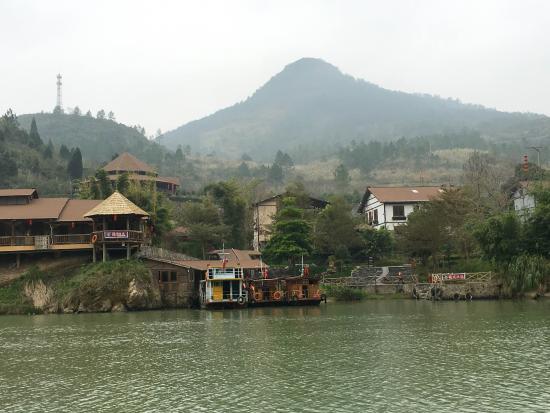Lianzhou, China: Huangchuan River Three Gorges
