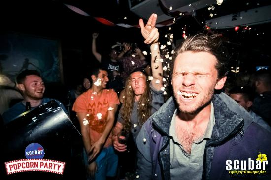 ScuBar: Popcorn Party