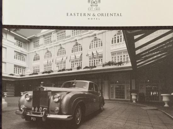 Eastern & Oriental Hotel: hotel info
