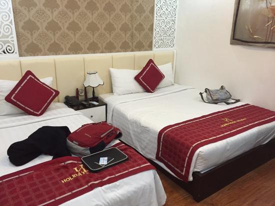 Hanoi Holiday Diamond Hotel: 205号室