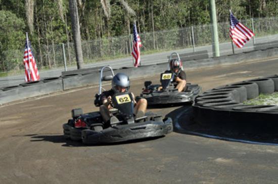 Pimpama, Australia: Daytona - Dirt Speedway for Hire Karts