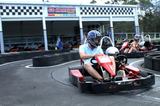 Pimpama, Australia: Dual Seat Karts Available on the Kids Track