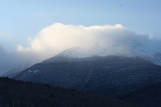 Gorham, NH: View of Mt Jefferson from Mt Washington