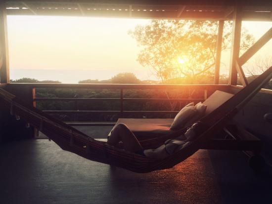 Casas de Soleil: Yoga deck