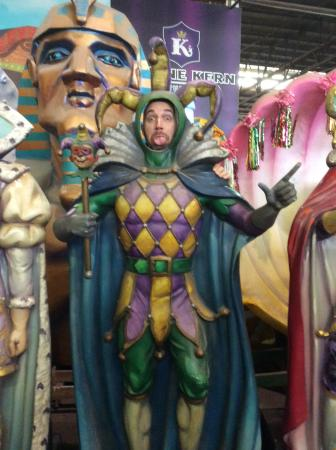 Blaine Kern's Mardi Gras World: Cutouts you can take pictures in