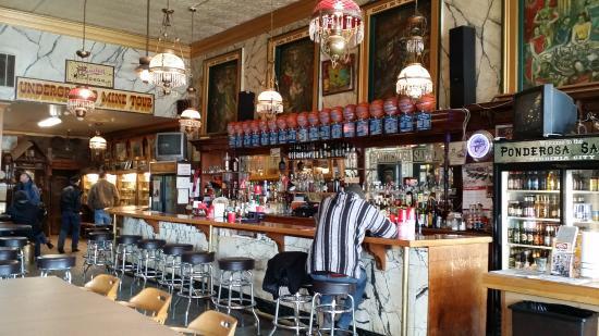 The Ponderosa Saloon Bar Area Inside