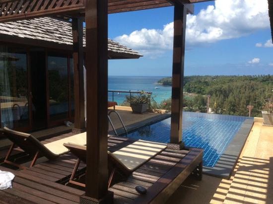 Ayara Hilltops Resort and Spa: Suite en U autour de la piscine privée