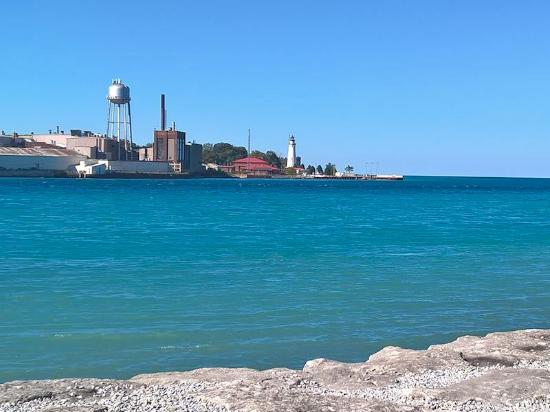 Waterfront Park Some Great Views Of Port Huron Michigan And Lake