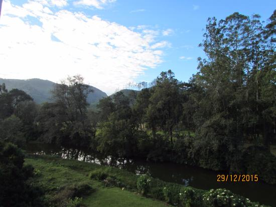 Grand Plaza Munnar: view from balcony