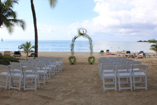 wedding set up picture of hotel riu palace tropical bay negril rh tripadvisor ie