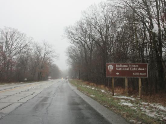 Porter, Indiana: sign