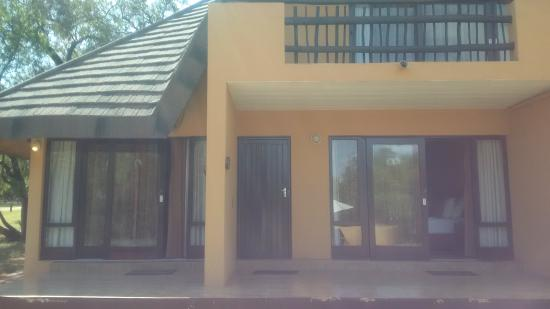Mabula Game Lodge: Room as seen from outside