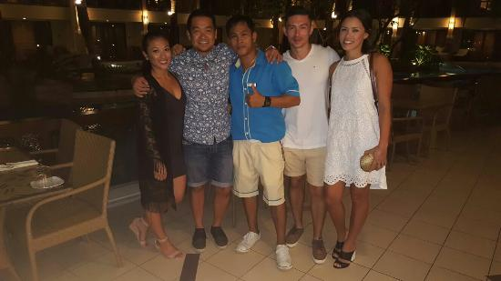 Henann Lagoon Resort: Marnel, Josa, Aldrin, Cheron, Kim, Alven. These guys are the best and the reason I have stayed w