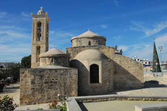 Geroskipou, Cypr: Vista da dietro
