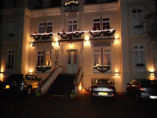 Hotel Castel de la Pique: la façade