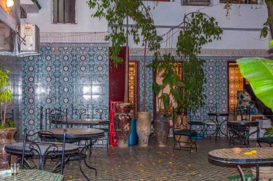 Restaurant al Fassia: Attractive decor