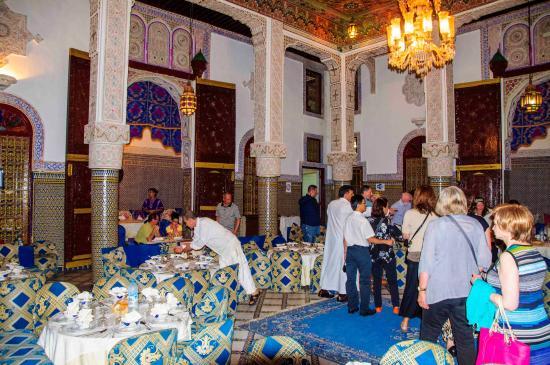Restaurant al Fassia: Comfortable seating