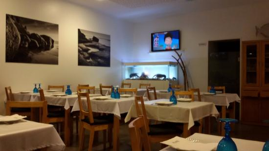 Azenhas do Mar, Portugalia: the restaurant