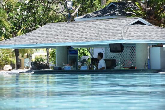 Swim up bar - Picture of Plantation Bay Resort And Spa ...
