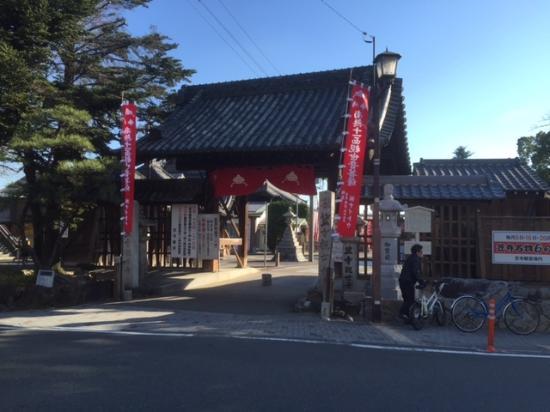Ryufukuji Temple: 仁王門