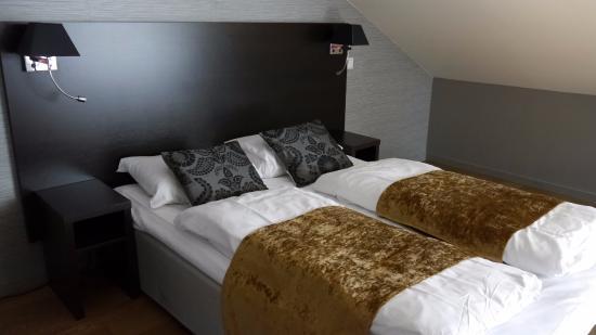 Saga Hotel Oslo: chambre