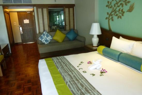 The Regent Cha Am Beach Resort: Heerlijke de luxe kamer