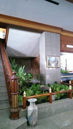 Welcome Jomtien Beach Hotel: Красивый вид со второго этажа.