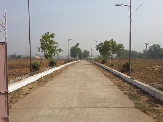 Highway 33 from hotel - Picture of Hotel Bibhuti Vihar