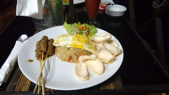 Pacung Indah Hotel & Restaurant: repas