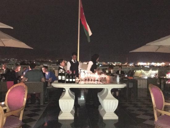 Grand Hyatt Muscat: Terrasse du Lounge
