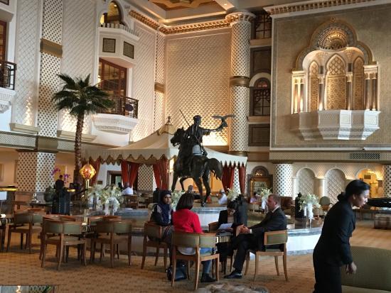 Grand Hyatt Muscat: Hall d'accueil