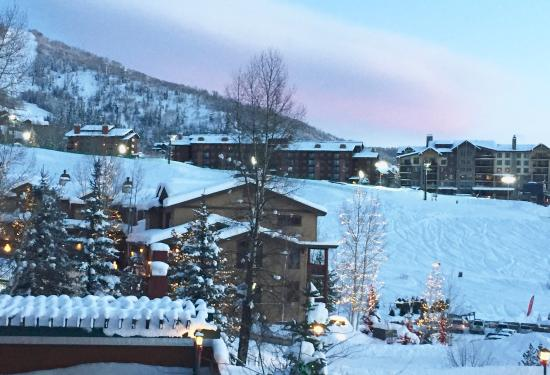 Kutuk Condominiums by Steamboat Springs: View from the living room